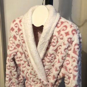 Jacqueline intimates Intimates & Sleepwear - Mauve and white robe